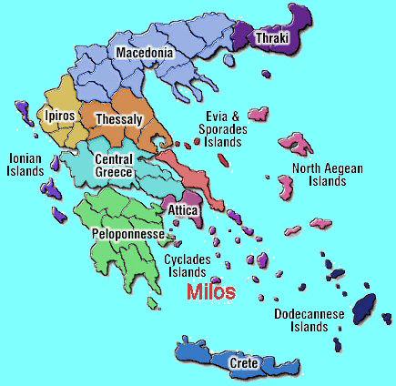 Kaart Griekenland Griekse Eilanden Plattegrond Map Griekenland